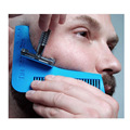 1PCS Beard Bro Beard Shaping Tool Gentleman Sex Man Beard Trim Template Hair Cut Molding Trim