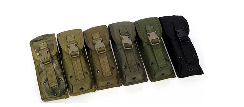 Free shipping In stock FLYYE genuine MOLLE Clamshell long intercom Pouch Flashlight Pouch Military combat CORDURA C032(China (Mainland))