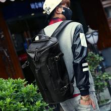 Luxury Leather Man Backpacks Famous Brand Men Travel Bags Duffel Bag Men Laptop Bag School Backpack Rucksack Mochila Bolso A0234(China (Mainland))