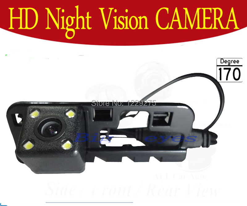 Factory selling 4 led Special Car Rear View Reverse backup rearview parking Camera for HONDA CIVIC 2006 2007 2008 2009(China (Mainland))