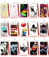 hybrid retail 15designs flower colorful batman new arrival white hard mobile phone bags&cases for Nokia lumia 720 free shipping