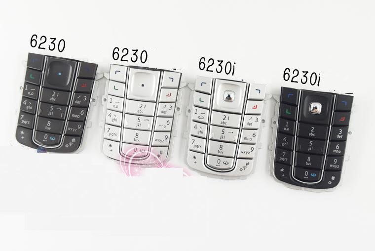New Housing Main Menu Keypads Keyboards Buttons Cover Case For Nokia 6230i 6230+Tools+Tracking(China (Mainland))
