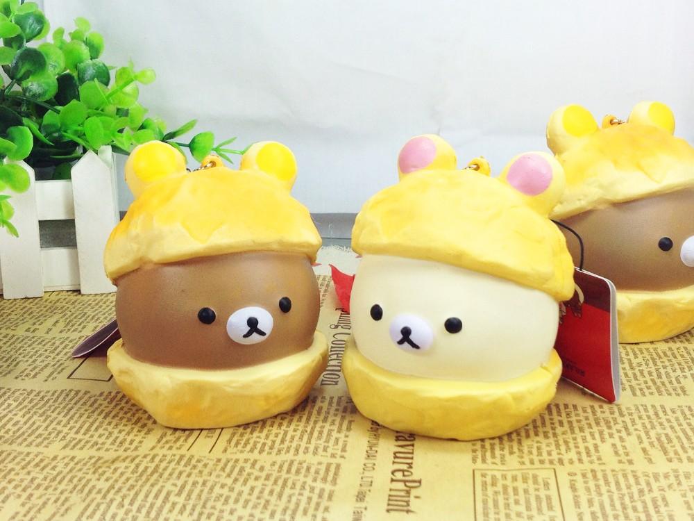 Rilakkuma Tag Squishy Supplier : Aliexpress.com : Buy 2015 new super rare cute kawaii fashion tokyo jumbo rilakkuma cream puff ...