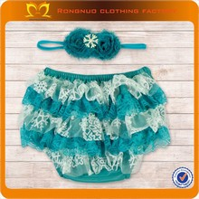 24PCS/LOT Chiffon Lace Ruffle Bum Baby Bloomer- Diaper Cover, Baby Girl Bloomer, Newborn Photo Prop- 8 Colors to Choose(China (Mainland))