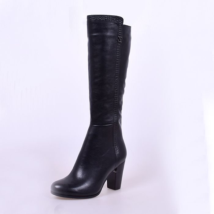 Beautiful High Quality Women Boots 2015 Pu Leather High Heels Mixed Color Zipper