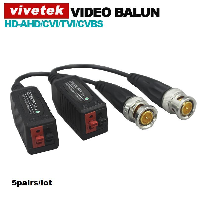 5pairs/lot HD Video Balun passive Transceivers UTP Balun Compitable with AHD/CVI/TVI/CVBS signal(China (Mainland))