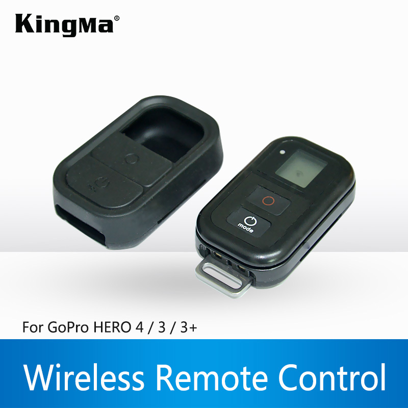 KingMa Hot-selling WiFi Remote Control+Wireless RC Charging Cable+Remote wrist belt For Gopro hero 4/3+/3 black Free Shipping<br><br>Aliexpress