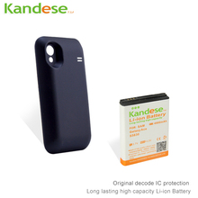 5pcs lot Hot sale KANDESE 3 7V 4900mah high capacity Ace S5830 extended battery for Samsung