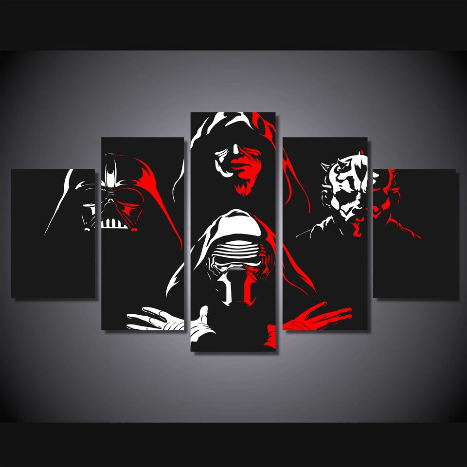 Unframed Hd Canvas Painting Darth Maul Star Wars Movie
