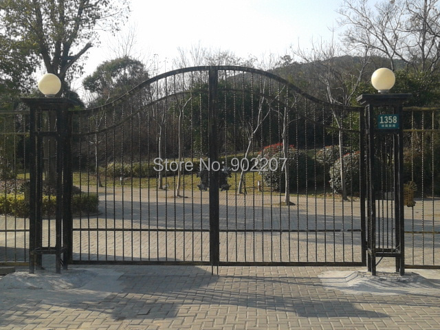 Online get cheap driveway gate alibaba group for Driveway gates online