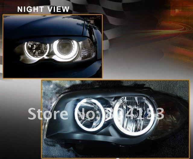 Free  shiping CCFL Angel Eyes Lamp Lights ring for BMW E46 white lighting(CA012)