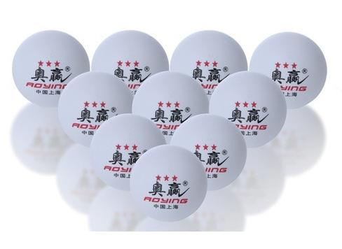 wholesale 200pcs/lot Big Big 40mm 3 -Stars Best Table Tennis Balls PingPong Balls white Free Shipping(China (Mainland))