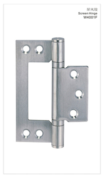 Door Screen Hinge W4001F-100X70X2.5-P2, Stainless Steel 304, Satin Stainless Steel,All Kinds of Folding Screens
