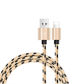 1M 1 5M 2M Nylon Braided Usb Cable for phone Charging on iPhone 5s iphone 6