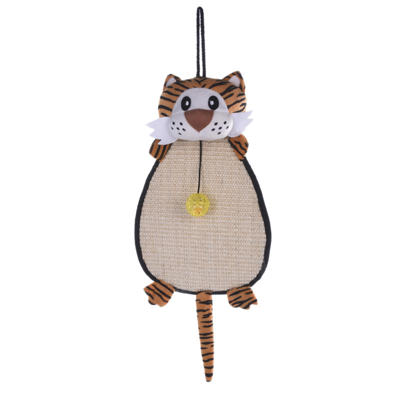 Cartoon Cat Scratch Board Monkey Mouse Pet Cat Sisal Toy The Cat Grinding Claws Pet Dogs Cats Toy Supplies(China (Mainland))