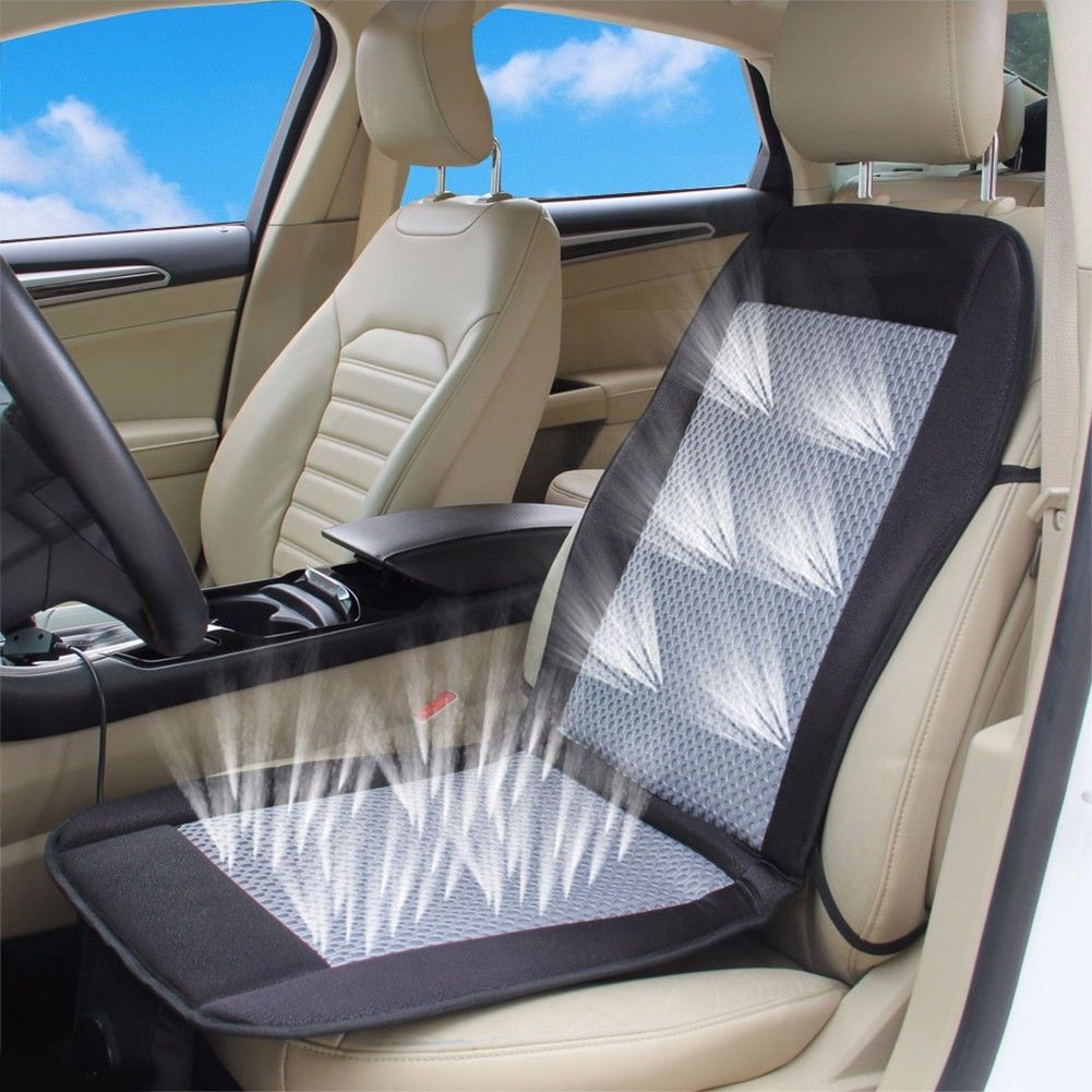 Car Seat Cushion Electric Ventilated Fan Conditioned