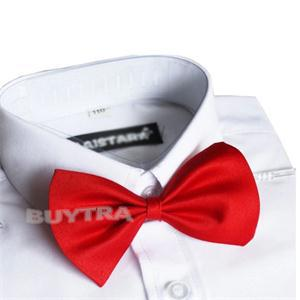 Solid Color Girls Boys Kids Fashion Bowtie Bow Tie For Men Women Candy Cravat Pet Dog Cat Butterfly FreeShipping