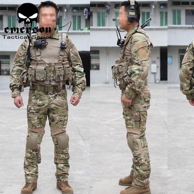 Tactical generación trajes de combate BDU camisa y pantalones pad multi,machine militar uniformes de