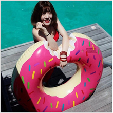 Donut Pool Inflatable Floats Pool Outdoors Toys Swimming Float for Kids Pool Floats Inflatable Donut Swim Ring Water Toy C0A600(China (Mainland))