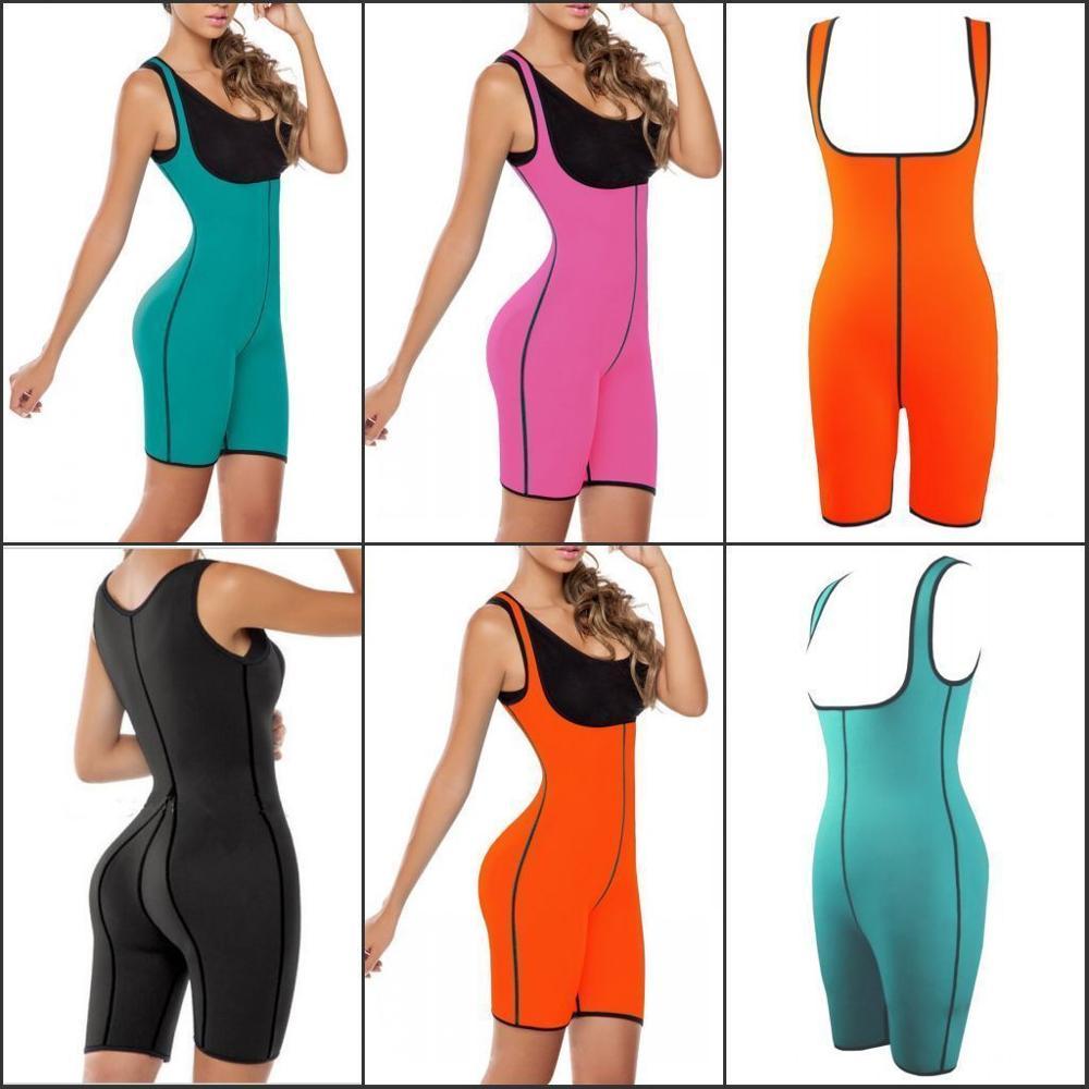 Palicy New Full Body Jumpsuits sweat Waist Hips Trainer Sports Gym Corset Shaper Shapewear Womens Slimming Cinchers Belts(China (Mainland))