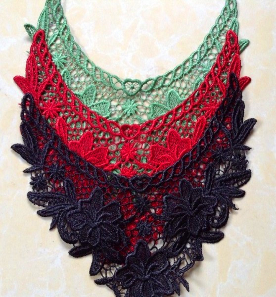 Buy pc cm gold swan embroidery patch lace collar