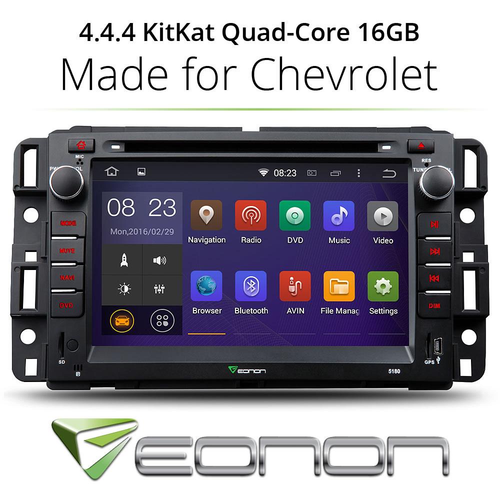 "Eonon GA5180F Android 7""Car 8 DVD GPS For Chevrolet GMC Silverado 1500 2500HD 3500HD(China (Mainland))"