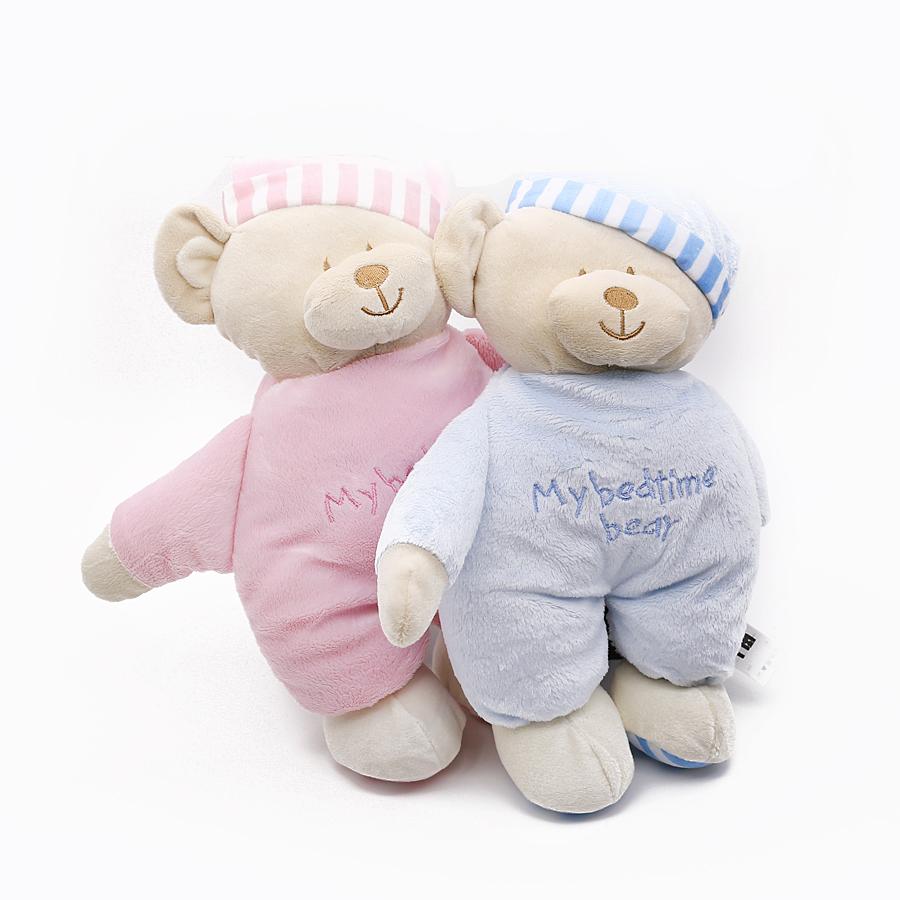 Kawaii Teddy Bear Stuffed Toys Stuffed Animal Bear Plush Kawaii Plush Toys Soft Bedtime Sleep Doll Newborn Baby Kids(China (Mainland))