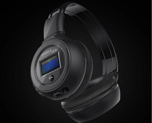 Good quality Original Zealot B570 Stereo Wireless Headset Bluetooth headphone Headband Headset with FM TF LED indicators for mp3