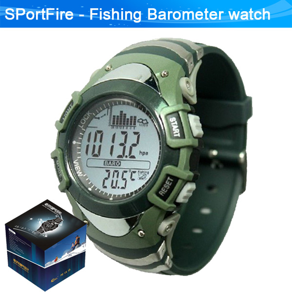 best selling fishing watch with barometer altimeter