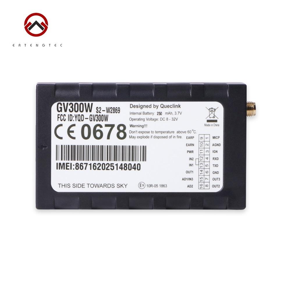 Car GPS Tracker WCDMA Tracking Device GSM Locator Queclink GV300W UMTS HSDPA u-blox 8V-32V DC Geo-fence Support GARMIN Protocol(China (Mainland))