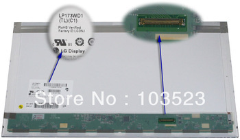 """LP173WD1 (TL)(C2) New For HP 17.3"""" HD Glossy LED LCD Screen Bottom Right connection(China (Mainland))"""