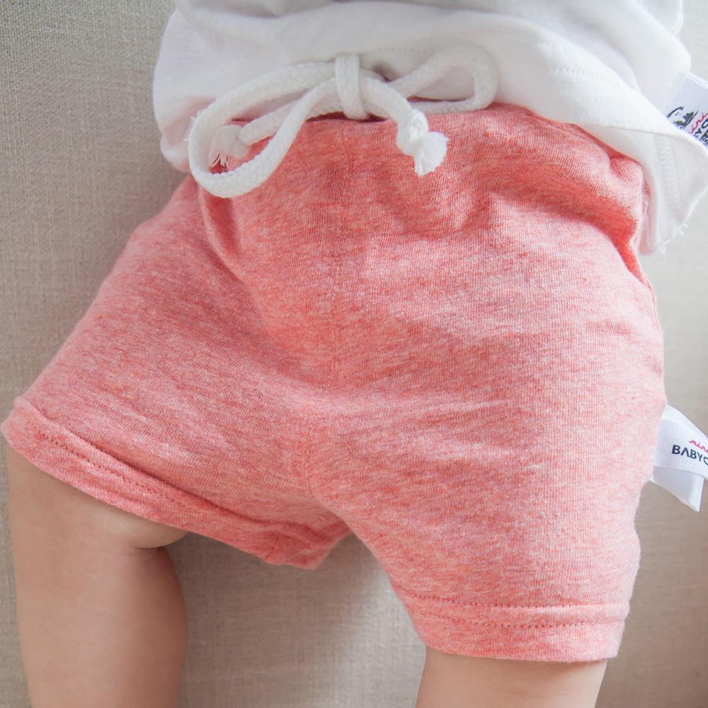 Baby Boys Summer Cotton Shorts Newborn Boy Solid Diaper Shorts Child Drawstring Beach Toddler Girls Short Pants Kids Clothes(China (Mainland))