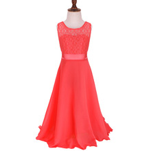 Vintage Lace Children Clothing Girl Birthday Outfits Fairy Little Bridesmaid Girl Princess Dresses Teen Girls Clothes 4~14 Years(China (Mainland))