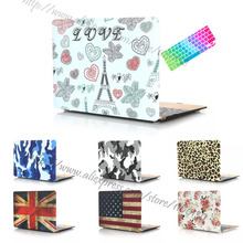 2015 New 2-in-1 Rubberized Hard protector cover case for Apple Macbook 12 inch sleeve case + keyboard cover for A1534 Retina(China (Mainland))