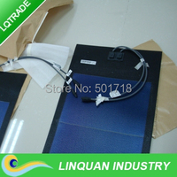 31W Flexible solar panel/thin film flexible solar laminate with adhesive backing