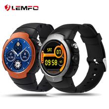 Lemfo lem3 3g wifi smart watch phone android 5.1 os mtk6580 quad core smartwatch telefone apoio google map freqüência cardíaca monitoramento(China (Mainland))