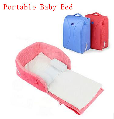 portable baby bed Cradles Crib Newborns Folding Portable Bed For baby ...