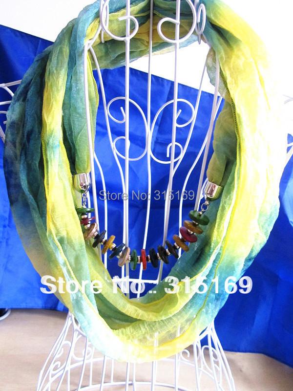 Mini$10, Mixed items, 1pcs/lot, New Fashion Women Gift Flower Printing Chiffon Wood Pendant Promote Scarf, Free Shipping(China (Mainland))