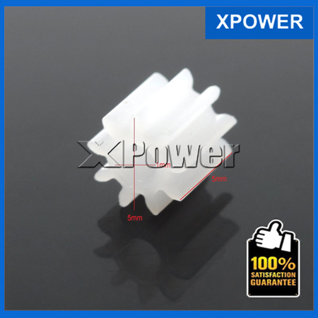 Free shipping0.5 modulus plastic spindle gear model motor gearbox toy accessories more specifications 20pcs/lot(China (Mainland))