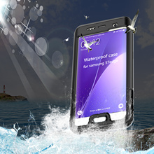IP68 100% Waterproof Cover Case For Samsung Galaxy S7 / S7 Edge Underwater 6M Placstic Protective Shockproof Dirtproof Cases(China (Mainland))