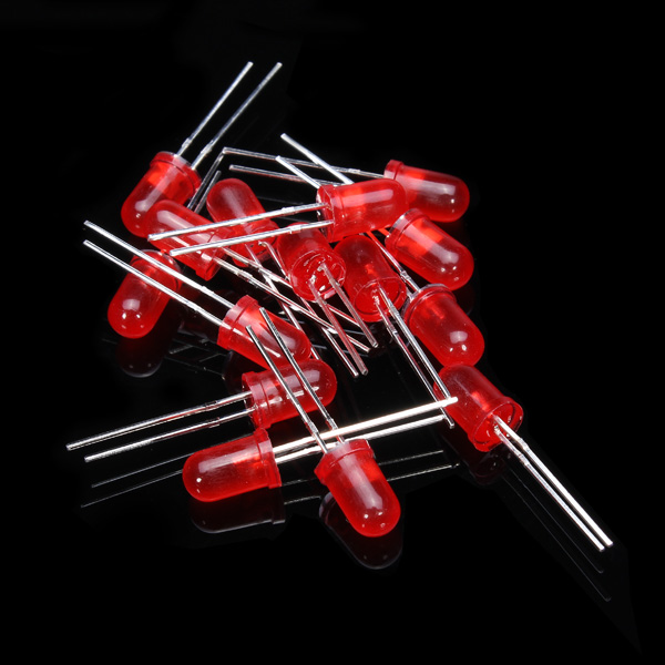 New DIY Electric Unit High quality 500Pcs 5MM LED Diode Kit Mixed Color Red Green Yellow Blue White 5 Color(China (Mainland))