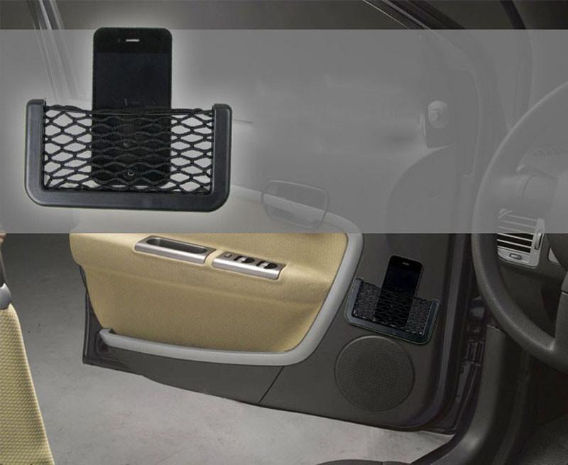 auto car styling big storage net net bag holder pocket organizer auto interior. Black Bedroom Furniture Sets. Home Design Ideas