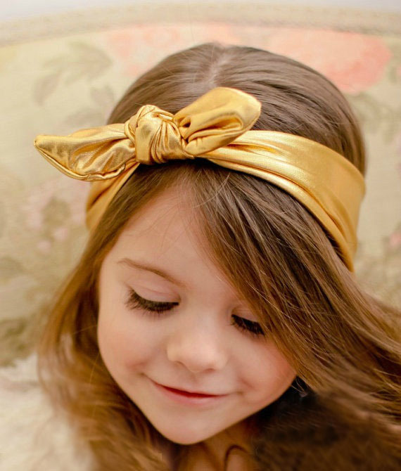 New Style Baby Girls Stretch Elastic Toddler Rabbit Ear Turban Knot Bow Hairband Headband Headwrap Hot Sell CNHD-15050802(China (Mainland))