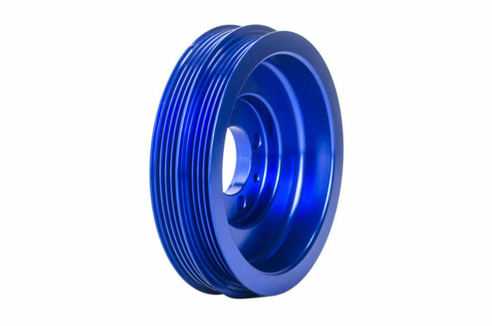 VR Racing Store CRANK PULLEY FOR EVO 1 2 3 4G63 CRANK PULLEY HIGH PERFORMANCE LIGHT