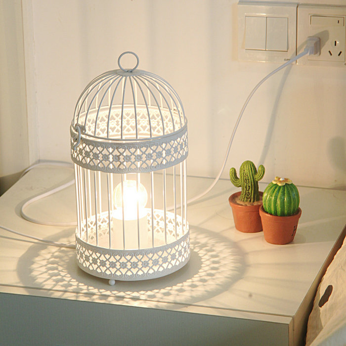 fashion bird cage table l small light real child