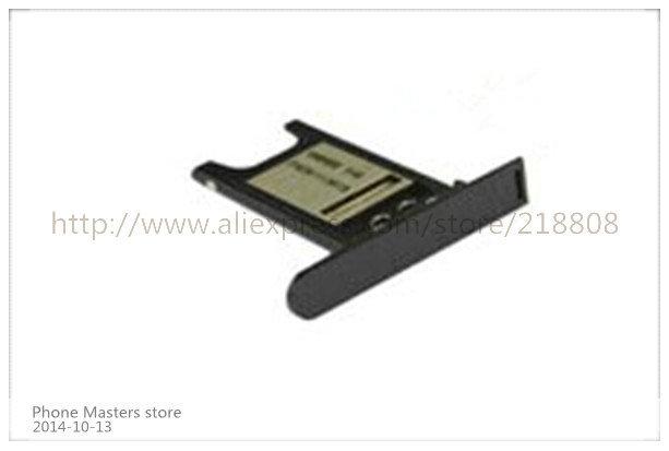 10pcs/lot for Nokia Lumia 800 N800 Sim Tray Card Slot Holder black and white free shipping(China (Mainland))