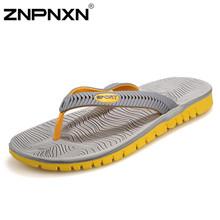 2016 Fashion Sandalias Hombre Summer Casual Slippers Men Sandals Beach Flip Flops Men Slippers Summer Sandals Men Shoes Slides(China (Mainland))