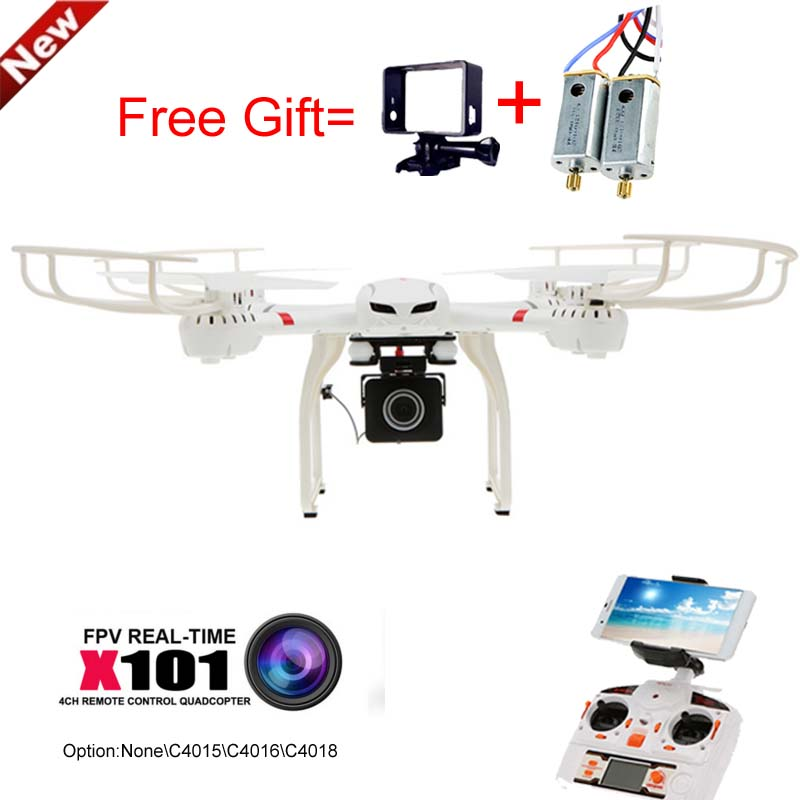 MJX X101 Professional Drones BIG Quadcopter wifi FPV Gimbal can Add C4015/C4018/C4016 720P HD Camera Real Time Camera Remote Con(China (Mainland))