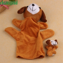 Buy HOT 2Pcs Dog Soft Animal Finger Puppet Baby Infant Kid Toy Plush Toys SEP 01 for $1.38 in AliExpress store