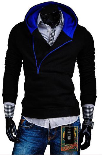 2015 New Arrival Fleece Cardigan Slim Fitness Hoodies Men Sport Suit Men Brand Sweatshirt Running Suit Sudaderas Hombre(China (Mainland))